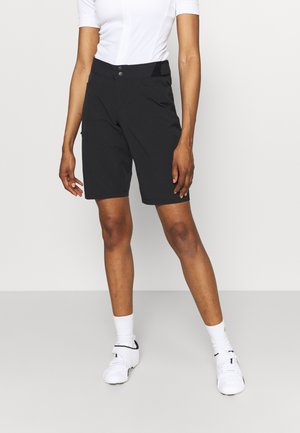 WEAR PASSION SHORTS WOMENS - kurze Sporthose - black