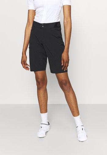 WEAR PASSION SHORTS WOMENS - Krótkie spodenki sportowe - black