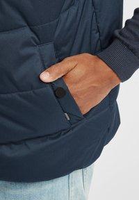 Solid - ATSU - Waistcoat - insignia blue - 4