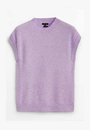 STRICKWESTE AUS WOLLE - Sweter - mauve