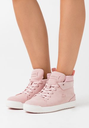 EXPLORATEUR  - Sneaker high - pink/offwhite