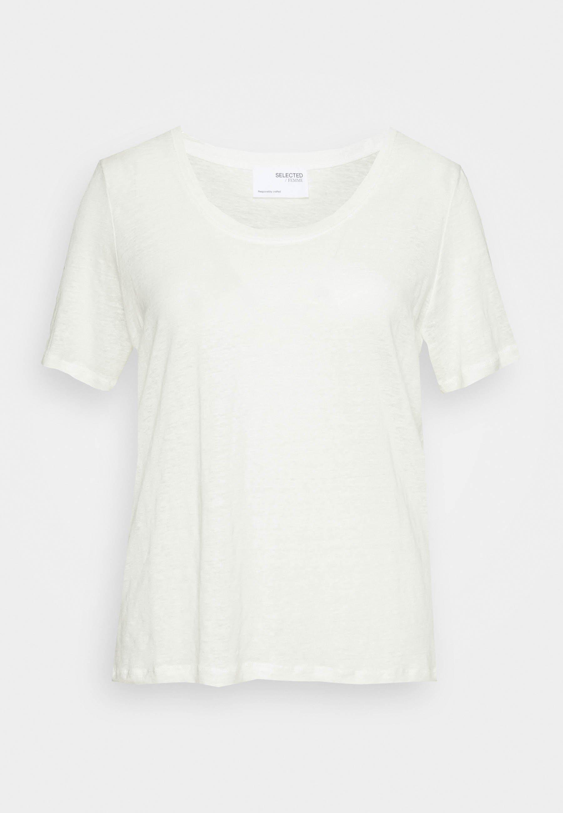 Women SLFLINE TEE  - Basic T-shirt