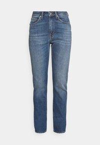 MEG        - Slim fit jeans - medium blue