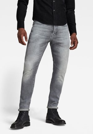 Trousers - sun faded glacier grey
