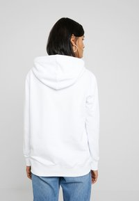 Calvin Klein Jeans - MIRRORED MONOGRAM HOODIE - Hoodie - bright white - 2
