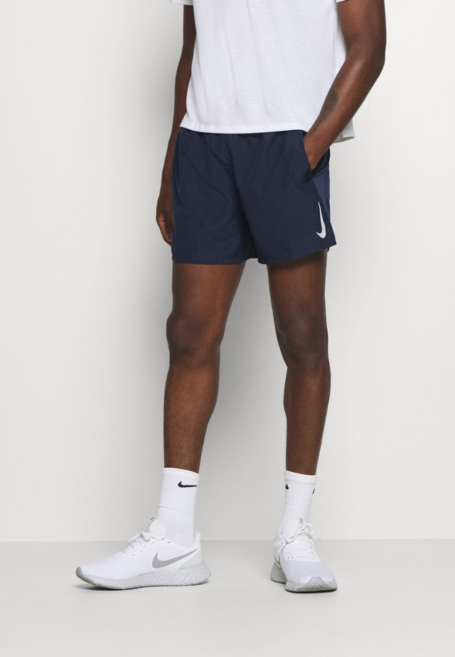 CHALLENGER SHORT - Sports shorts - obsidian/reflective silver