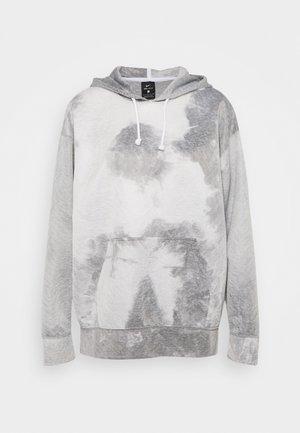 HOODIE - Långärmad tröja - black/white