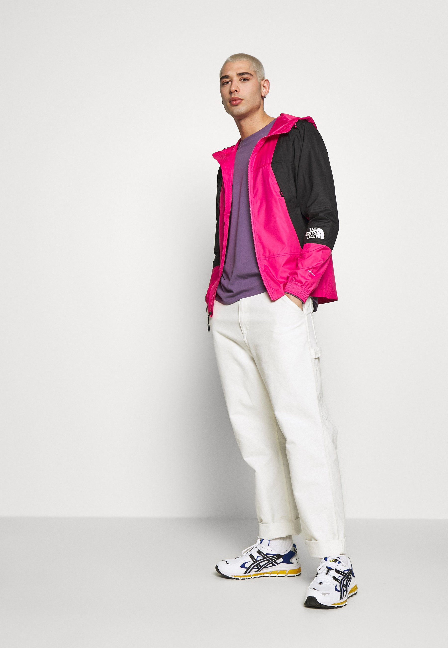 The North Face MOUNTAIN LIGHT WINDSHELL JACKET - Veste coupe-vent - pink