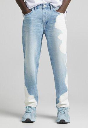 STRAIGHT - Straight leg jeans - light blue