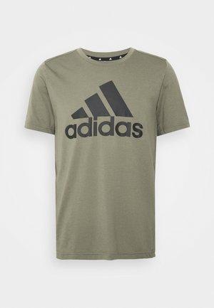 Print T-shirt - legacy green/black