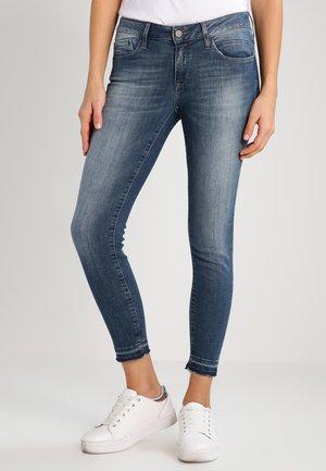 ADRIANA ANKLE - Jeans Skinny Fit - foogy stretch