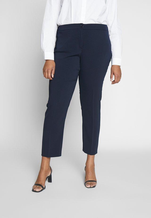 REGINA - Spodnie materiałowe - blu marino