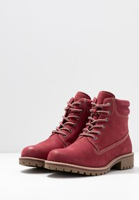 Marco Tozzi - Lace-up ankle boots - chianti - 4