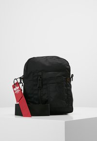 Alpha Industries - CREW CARRY BAG - Across body bag - black - 0