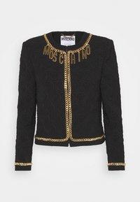 MOSCHINO - JACKET - Blazer - black/gold-coloured - 0