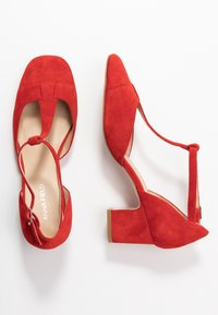 Anna Field - LEATHER PUMPS - Classic heels - red - 3