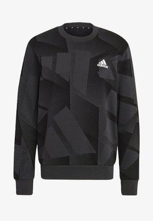 Sweatshirt - black silver