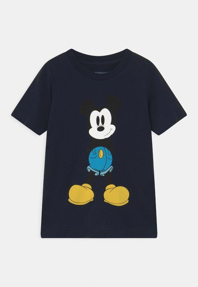 MICKEY MOUSE UNISEX - Print T-shirt - obsidian