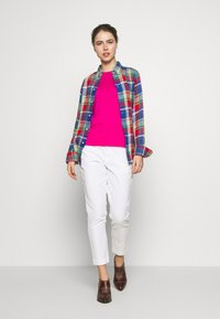 Polo Ralph Lauren - GEORGIA CLASSIC LONG SLEEVE - Bluser - blue/red - 1