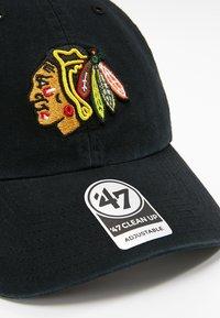 '47 - NHL CHICAGO BLACKHAWKS 47 CLEAN UP - Cap - black - 5