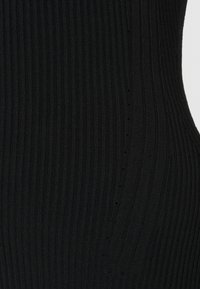 Zign - MIXED RIB JUMPER - Jumper - black