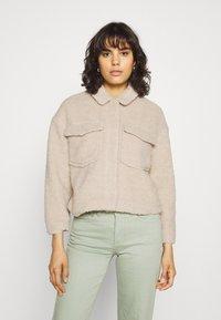 ONLY - ONLMARINA CROP JACKET - Light jacket - humus - 0