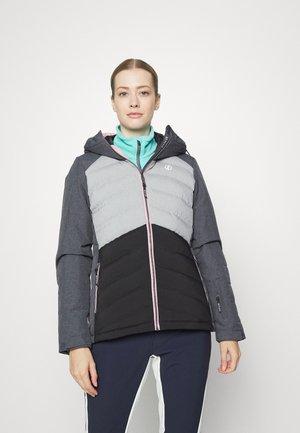 CODED JACKET - Ski jacket - ebony/ashgry