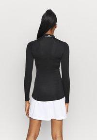 J.LINDEBERG - ÅSA PRINT SOFT COMPRESSION - Sports shirt - black - 2