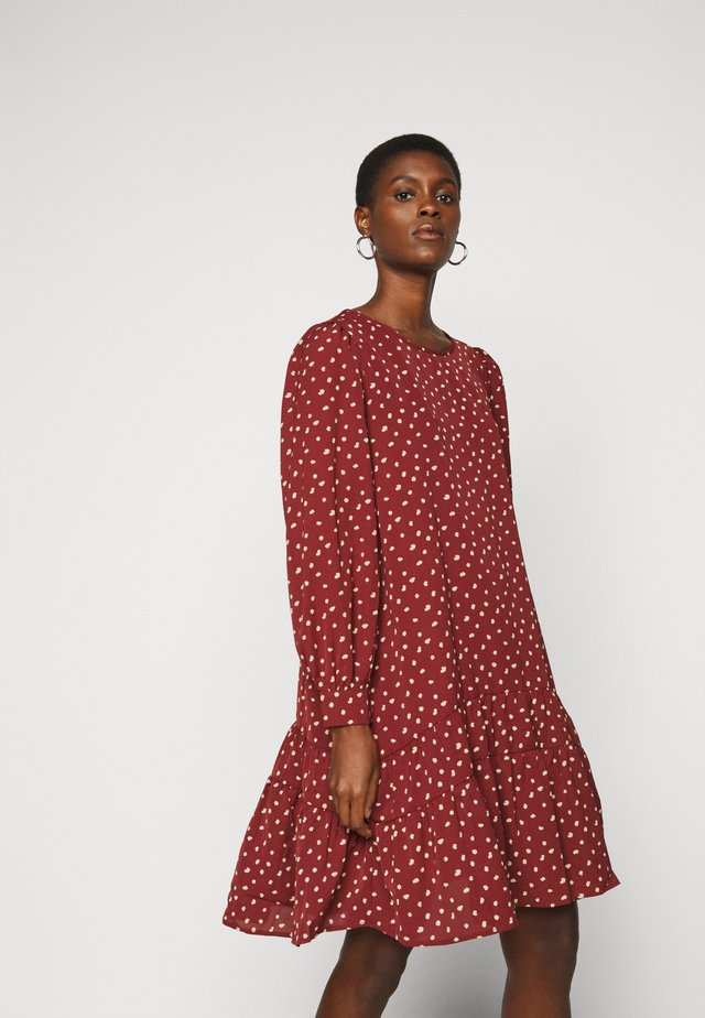 ONLCHERYL DRESS - Robe d'été - red
