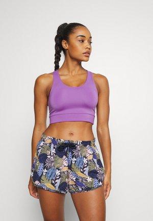 Light support sports bra - lilac purple medium