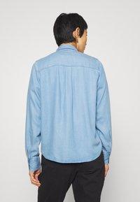 Mos Mosh - MARTINA - Button-down blouse - light blue - 2