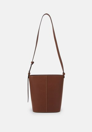AINA - Handbag - maroon brown