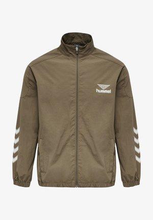 ZIP JACKET - Training jacket - walnut
