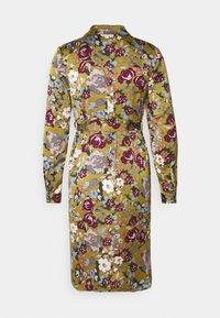 Vero Moda Petite - VMEMELY BELT DRESS - Vestido informal - green moss - 1
