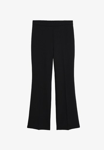 CROWN - Trousers - schwarz