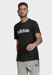 adidas Performance - T-shirts print - black - 0