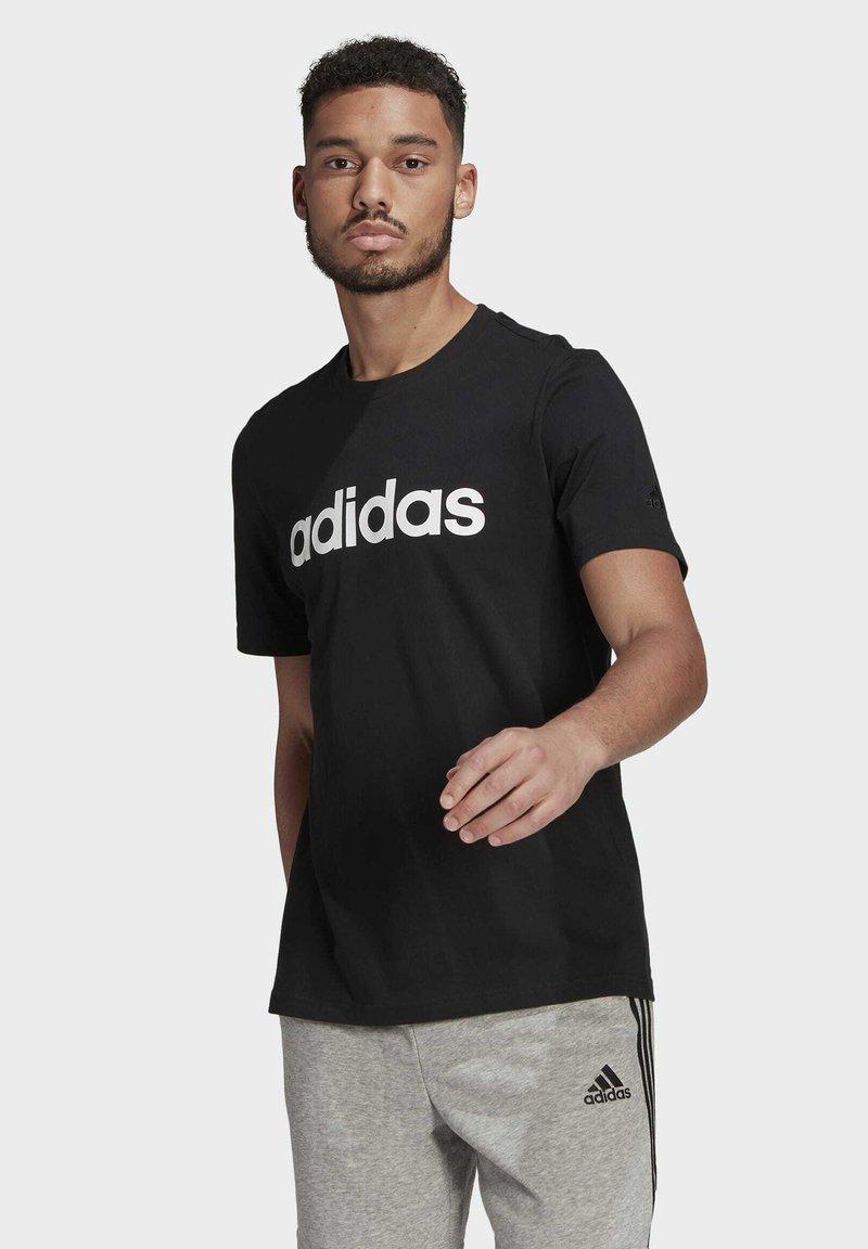adidas Performance - T-shirts print - black