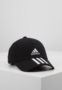 adidas Performance - 3STRIPES BASEBALL COTTON TWILL SPORT - Pet - black/white/white - 0