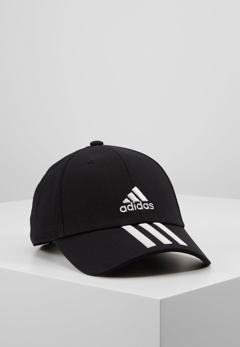 adidas Performance - 3STRIPES BASEBALL COTTON TWILL SPORT - Pet - black/white/white