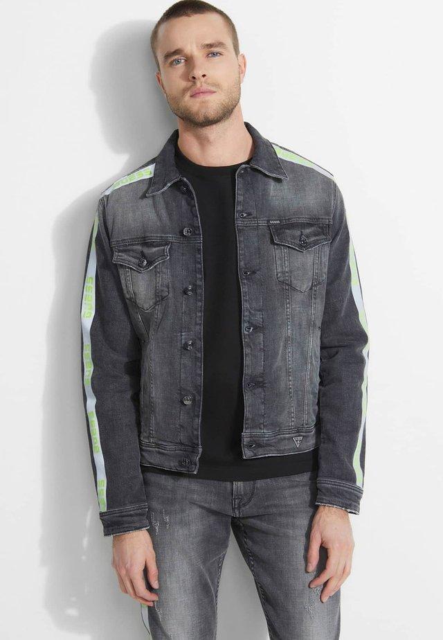 Giacca di jeans - mehrfarbig schwarz
