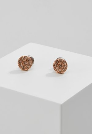 VINTAGE GLITZ - Pendientes - rosegold-coloured