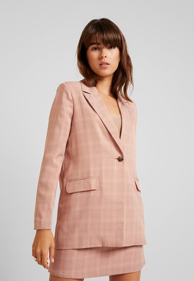 BABY CHECK - Blazer - light pink