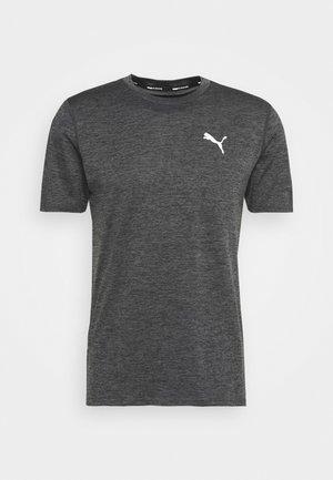 RUN FAVORITE TEE - T-Shirt print - dark gray heather