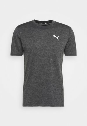 RUN FAVORITE TEE - T-shirt med print - dark gray heather