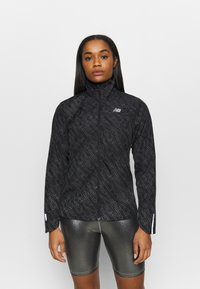 New Balance - ACCELERATE PROTECT JACKET REFLECTIVE - Sports jacket - black/silver - 0