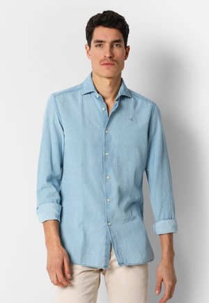 PINSTRIPED  - Shirt - blue stripes