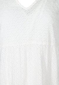 Zizzi - Day dress - bright white - 3
