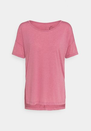 YOGA LAYER - T-paita - desert berry/arctic pink