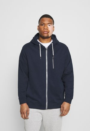 COSY BASIC JACKET - Felpa aperta - dark blue