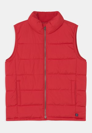 BOY SOLID PUFFER - Waistcoat - pure red